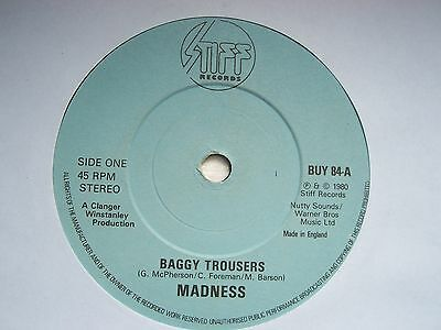 Madness, Baggy Trousers / The Business: Original 1980 Stiff Single