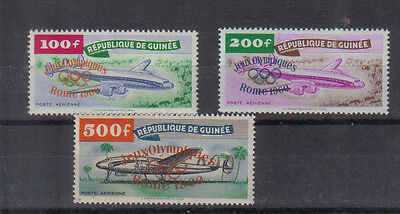 Guinea 1960 Olympic Games set very lightly mounted mint