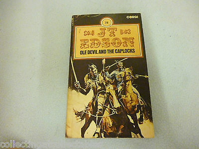 Western Book Ole Devil And The Caplocks  1976 1st edition  by J. T. Edson