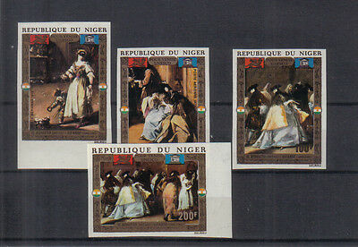 Niger 1972 Save Venice set imperf unmounted mint