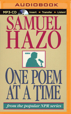 One Poem at a Time by Samuel Hazo (2015, MP3 CD, Unabridged)