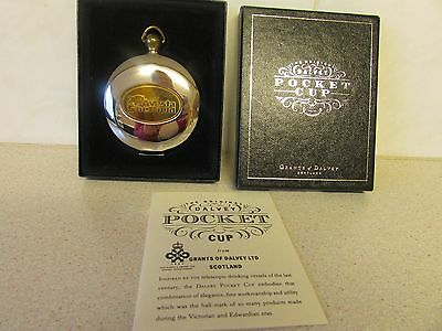 Boxed Grants of Dalvey Scotland Telescopic Pocket Cup V.G.C. Collectable