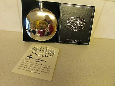 Boxed Grants of Dalvey Scotland Pocket Flask V.G.C. Collectable