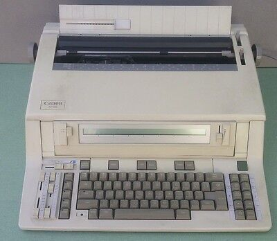 CANON AP160 ELECTRIC TYPEWRITER Word Processor Office Electronic AP-160 Works!