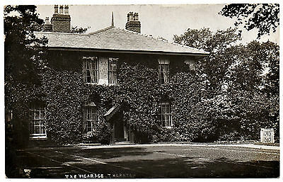 The Vicarage Thornton Real Photo