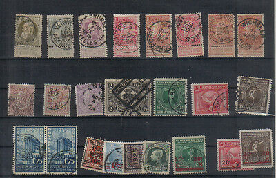 Belgium Early used collection