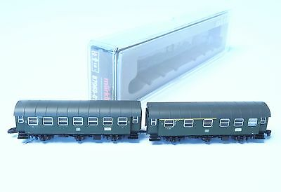 87060-1 Marklin Z-scale 2 cars with close couple  in an Umbauwagen set