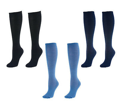 4 Pair QVC Dream Soles Knee-High Socks   Cushions your Sole!!!