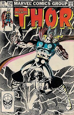 THOR # 334    MARVEL COMICS    1983    vf