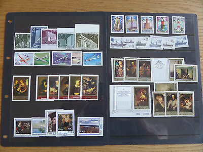 Russia 1983-84 Nine unmounted  mint sets