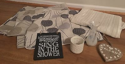 Job Lot John Lewis Next M&s Cream Home  Cushion Covers Candle Sign Table Runner