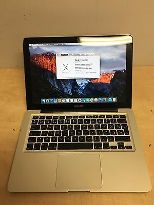 "Macbook Pro 13.3"" con GARANTIA A1278 Finales 2009 Intel 4GB DDR3 500GB op.SSD"