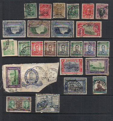 S Rhodesia Used collection