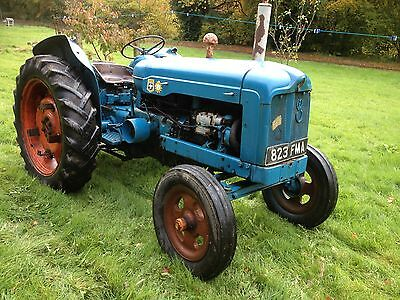 Fordson Power Major With Live Drive And V5