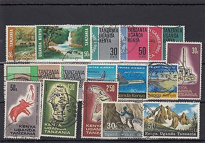 K.u.t. 16 -- 1968 Used Stamps On Stockcard