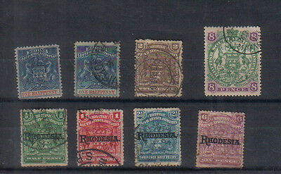 Rhodesia Clearout of early values