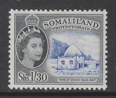 SOMALILAND - 1958 QE II Pictorial Definitive - 1s.30., MNH   Cat £24