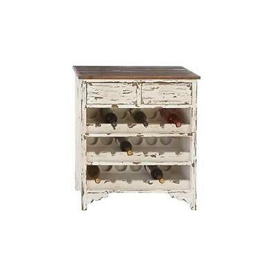 A nation 35019 Classic Wood Wine Cabinet 32 in. H 28 in. W