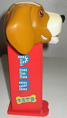 Giant PEZ For Pets Beagle DOG Red Treat Dispenser USED