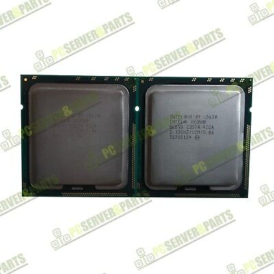 Pair of Intel Xeon L5630 2.13GHz QC Processor for Dell R710