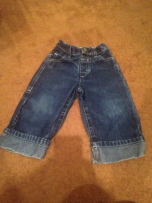 Next Jeans With Turn Ups 12-18 Months
