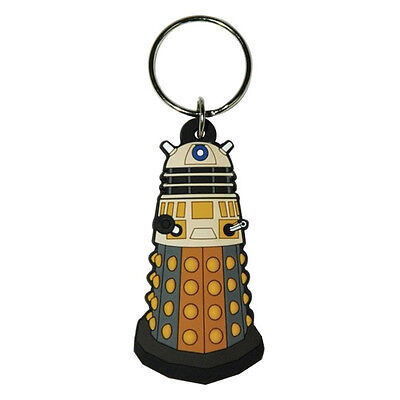 Doctor Who Dalek Rubber Keyring *FREE P&P*