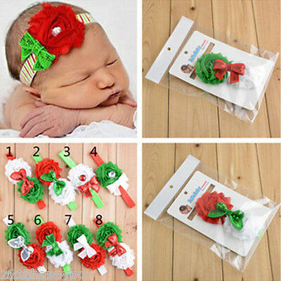 1PC Baby Girl Toddler Sequined Bow Head Wrap Hair Band Striped Turban Headband
