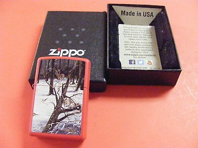 Winter Scene- A Christmas Party--ZIPPO LIGHTER--- NEW IN BOX