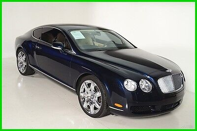 2007 Bentley Continental GT GT Coupe 2-Door 2007 Used Turbo 6L W12 60V Automatic AWD Premium