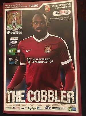 Northampton Town v Swindon Town 2016/2017