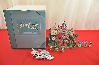 Dept 56 Storybook Village #4 Queen's House of Cards in Box #1437