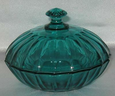 Smith Aquamarine Candy Box with Lid New