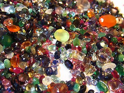 Natural Loose Mixed Faceted Gemstone Parcel 250 CTW
