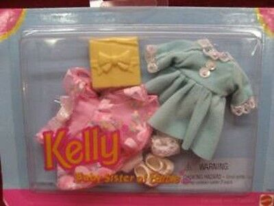 Kelly baby sister of Barbie fashion 2 dresses and shoes