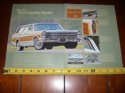 1966 - 1967 Ford Country Squire Station Wagon - Original 2008 Article