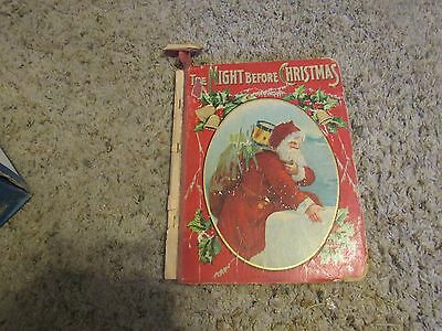 "Antique  Santa Claus Book ""The Night Before Christmas"" M.A. Donohue (Box A)"