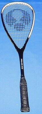 ACE SM 1000 Squash Racquet Racket  Adults with Cover Excellent ALU Graphite