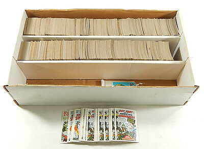 Approx (1800) 1984 FTCC Marvel Superheroes First Issue Covers Cards ^ Avg Vg/Ex