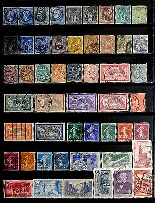 France: Classic Era Stamp Collection