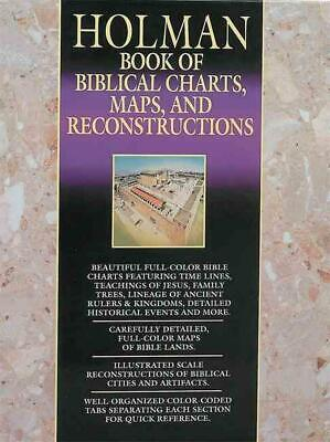 Book of Biblical Charts, Maps, and Reconstructions by Holman Bible Publishers (E