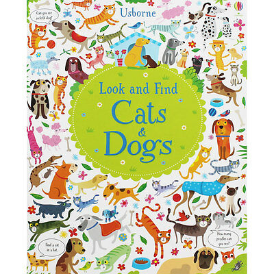 Look And Find Cats And Dogs (Hardback), Children's Books, Brand New