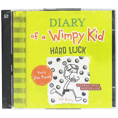 Hard Luck - Diary Of A Wimpy Kid - Audio Book (CD), Audio Books, Brand New