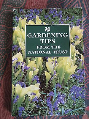 Gardening Tips from the National Trust-1994 p/b- B/W illustrations