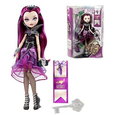 Ever After High Poupée - Rebel Raven Queen