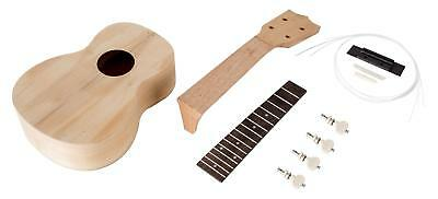 Ukulele Bausatz Sopran Uke selber bauen Do It Yourself Set DIY Kit Konstruieren