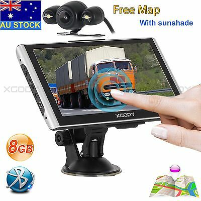 XGODY 826 7 Inch SAT NAV 8GB Bluetooth Car GPS Navigation+Wired Rearview Camera