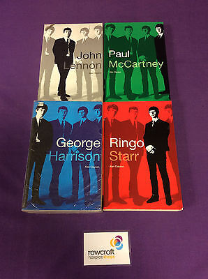 Set of 4x Beatles Paperback Books by Alan Clayson