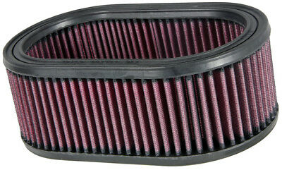 "E-3461 K&N Custom Air Filter 8-7/8"" X 5-1/4"", 3-1/4""H, OVAL (KN Round Replacemen"