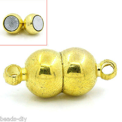5 Sets FREE SHIPPING  Semicircle Magnetic Clasps 16x7mm