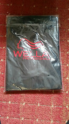 Wella Professional black Hairdressing coloring Gown Hairdresser Salon Cape